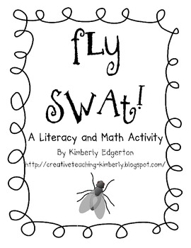 Fly Swat! Literacy and Math Activity