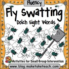Fly Swatting Sight Words Dolch Sight Word Lists 1-9