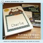 Flying Friends Journal Covers