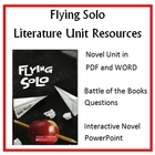 """Flying Solo"", by Ralph Fletcher, Entire Unit of Resources on CD"