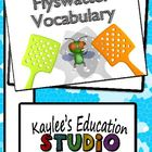 Flyswatter Vocabulary - 3rd Grade