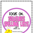 Focus On: Treasures Spelling Lists