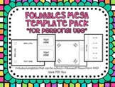 Foldables Mega Template Pack *For Personal Use*