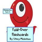 Folded Flashcards - Multiplication - 1's