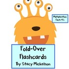 Folded Flashcards - Multiplication - 4's