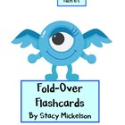 Folded Flashcards - Multiplication - 6's