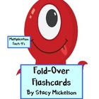 Folded Flashcards - Multiplication - 9's
