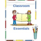 Folder Covers: Parent Communication Folders and Student Or