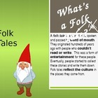 Folk Tale PowerPoint for 3rd, 4th, 5th, 6th Language Arts 
