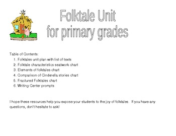 Folktale unit for Primary grades