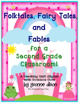 Folktales, Fairy Tales, and Fables for a Second Grade Classroom