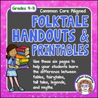 Folktales: Fairytales, Fables, Tall Tales, Legends & Myths
