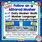 Follow an Iditarod Musher with Daily Math and Language & W