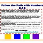 Follow the Path with Numbers 0-20