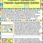 Followers Newsletter Teacher Appreciation Edition