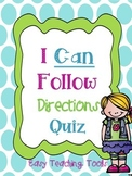 Following Directions Activity {Sneaky FREEBIE}