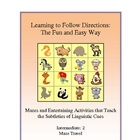 Following Directions: The Fun and Easy Way - Intermediate 2