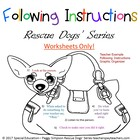 Following Instructions Example Worksheet Special Needs Edu