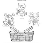 Following Jesus Fills Us with Joy Coloring Page VBS/Sun School