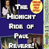 Following the Midnight Ride of Paul Revere! 3 Activities t
