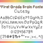Font: Cutesy (personal and commercial use)