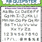 Font - Personal or Commercial Use: KB Quipster