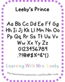FREE Font for personal and commercial use - Leeby's Prince