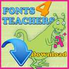 Fonts 4 Teachers Regular (Download Only)