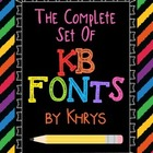 Fonts Fonts Fonts! - 56 Personal or Commercial Use Fonts:
