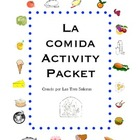 Food Activity Packet/ Comida