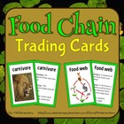 Food Chain Vocab Cards