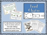 Food Chains PowerPoint and activities
