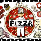 Food Clip Art: Pizza Fractions and Toppings by Charlotte's Clips