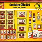 Food Clip Art - from Grocery Store for Cooking by Charlott