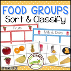 Food Groups Sort &amp; Classify