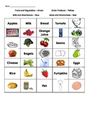 Food Groups Sorts (Primary)