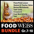 Food Webs - LESSON BUNDLE