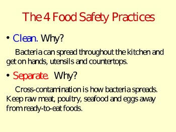 Food and Kitchen Safety PowerPoint