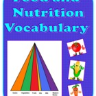 Food and Nutrition Vocabulary