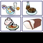 Food,Meal and Drinks Flash Cards