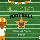Football All Star Noun and Verb Scoot