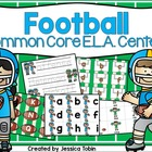 Football Center Activities for Common Core: ELA