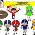Football Clipart / Football Clip Art /