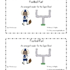 Football Emergent Reader