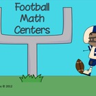 Football Fun Math Centers