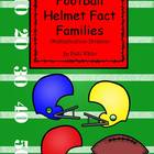 Football Helmet Fact Families