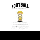 Football -Literacy and Math Activities
