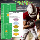 Football Math Game Board