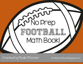 http://www.teacherspayteachers.com/Product/Football-Mini-Math-Book-No-Prep-1546076