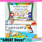 Football Themed Classroom Resources